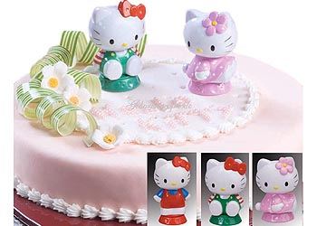 Tortendekoration Hello Kitty Figuren